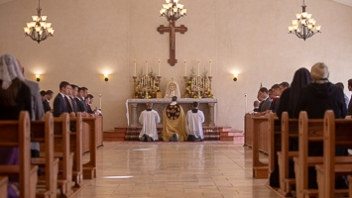 Mass Times at the Seminary - St  Thomas Aquinas Seminary - USA