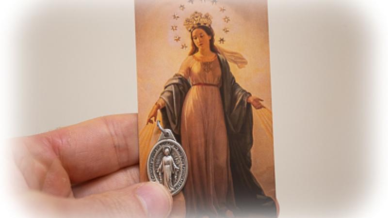 Miraculous Medal Campaign - St  Thomas Aquinas Seminary - USA